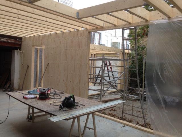 Aanbouw huis plaatsen Den Haag